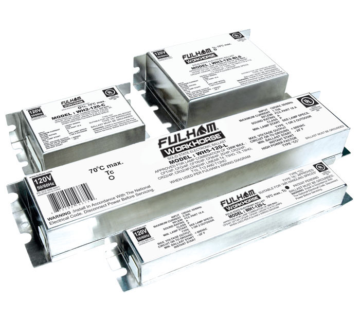 Fulham: WorkHorse In-Fixture Ballasts | Workhorse 1 Ballast Wiring Diagram |  | Fulham: Lighting